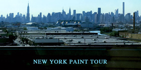 NEW YORK PAINT TOUR