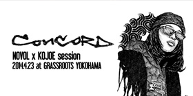 4/23(wed)CONCORD session28 ゲスト:KOJOE