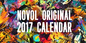 NOVOL 2017年カレンダー