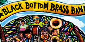 BLACK BOTTOM BRASS BAND : HARVEST
