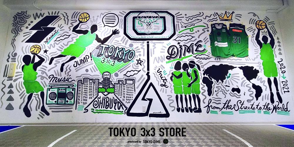 TOKYO 3x3 STORE