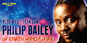 PHILIP BAILEY @BLUENOTE 東京
